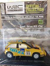 1:24 SEAT IBIZA KIT CAR SAFARI RALLY ROVANPERA SILANDER 1998FIA WORLD RALLY MIB