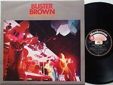 BUSTER BROWN Something To Say AUSTRALIA Blues/Prog LP ROSE TATTOO AC/DC Promo EX