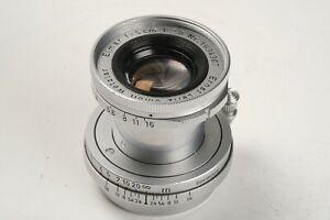 Leitz Leica Elmar schraub 2,8/5cm Nr. 1634307, 1x Deckel