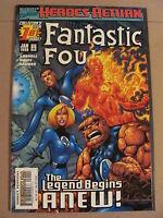 Fantastic Four Vol.3 #1  Marvel Comics 1998 Series 9.4 Near Mint