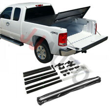"Modular Lock Tri-Fold Tonneau Cover Fit 1988-1998 Chevy C/K Series 6.5ft 78"" Bed"