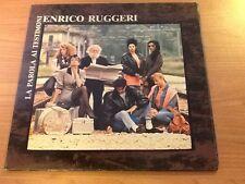 LP ENRICO RUGGERI LA PAROLA AI TESTIMONI  CGD 20846 EX/EX ITALY PS 1988