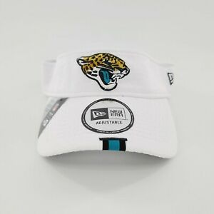 New Era 2019 Jacksonville Jaguars NFL On Field Training Adjustable Visor White