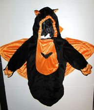 Halloween Baby Velour Bat Costume Bunting boy or girl 0-9M NWT