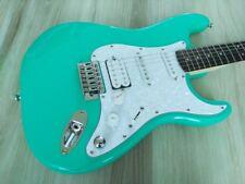 Fender Squier Stratocaster Guitar TurboCharged w/ Blender MOD Seafoam Strat HSS