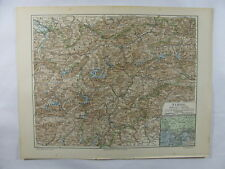 Antique Map Middel East Arabia Afghanistan Jerusalem Turkestan Egypt Asia Minor