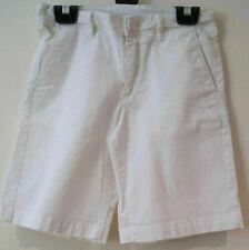 MONCLER Girls White Cotton Stretch Branded Casual Summer Shorts 10Y 140cm