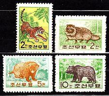 KOREA 1962 mint(*) SC#381/84 set,  Animals.