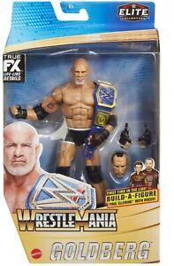 WWE GOLDBERG WRESTLEMANIA 37 ELITE FIGURE SERIES MATTEL WRESTLING ACTION FIGURE