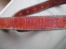 Magnifique ceinture en cuir INDIANA JONES TBEG  vintage  à saisir  - Belt