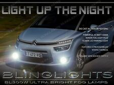 2014 2015 2016 Citroen Grand C4 Picasso Fog Lamps Driving Lights Kit w/ Harness