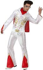 Déguisement Homme Elvis M/L Costume Adulte Disco Rock Star film