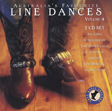 AUSTRALIA'S FAVOURITE  LINE DANCES - 2 CD - VOLUME 4