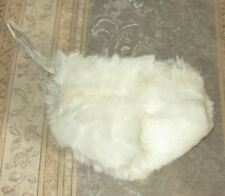 Vintage Child's Rabbit Fur Muff / Purse -1950's