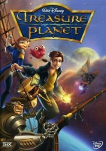 Brand New Disney DVD Treasure Planet by Joseph Gordon-Levitt 2003