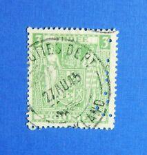 1937 3L NEW ZEALAND STAMP DUTY REVENUE SCOTT# AR65 SG# F183 B# 321 USED  CS33441