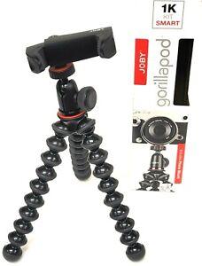 JOBY GorillaPod 1K Smart Angle Adjustable Wrap Grip Stand Phone & Camera Tripod
