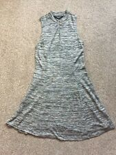New Look Girls Grey Jersey Dress. Age 12 - 13 Years. Lovely Dress To Layer Up.
