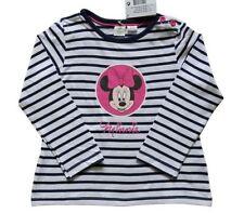 Chemises, débardeurs et t-shirts bleus hautes pour fille de 0 à 24 mois