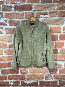 Vintage PATAGONIA Retro-X High/Deep Pile Oatmeal Sherpa Fleece Bomber Jacket
