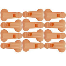 12 WILLY WHISTLES BLOWING FUN WHISTLE HEN PARTY NIGHT DO ACCESSORIES ACCESSORY