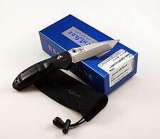 Benchmade Mini-Griptilian 557 Tanto Knife Plain Edge Black Handles - New