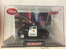 Disney Pixar Cars 2 Disney Store Collector Case SHERIFF