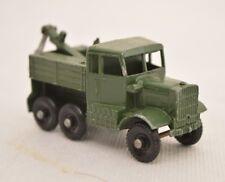 Matchbox Lesney No.64 Scammell Breakdown Truck GREEN HOOK Fach F5