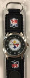 Pittsburgh Steelers Youth Boys Watch Game Time NFL Football Water Resistant New