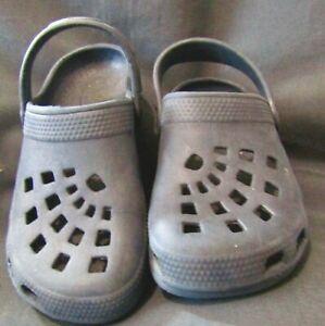 Kids' Croc style slip-on sandals - size UK 11 1/2 -  30 - BD7