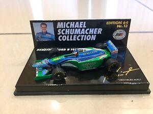 MINICHAMPS 1/64 MICHAEL SCHUMACHER, BENETTON FORD B194 1994 F1 CAR, 510946405
