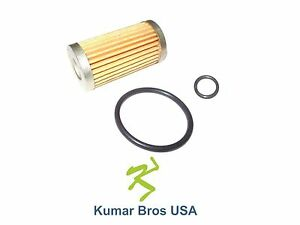 New Ford New Holland Fuel Filter with O-Ring 1110 1210 1310 1510 1710 1215 1715