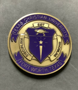 US ARMY ROTC TEXAS CHRISTIAN UNIVERSITY CHALLENGE COIN