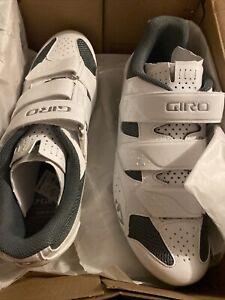 Giro Techne W Womens Cycling Shoe White / Silver Size 10.0 42