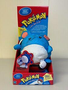 Pokemon Collectible Plush Marill Pop-Open Poke Ball by Hasbro (MIB) 2000