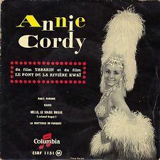 ANNIE CORDY PARIS PANAME FRENCH ORIG EP J. H. RYS