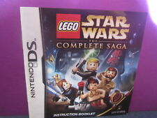 LEGO STAR WARS: THE COMPLETE SAGA DS MANUAL ONLY/NO GAME CARTRIDGE