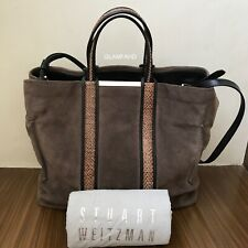 Pre Owned Authentic STUART WEITZMAN 2 Way Style Tote / Shoulder Bag
