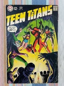 Teen Titans #19 Comic Book