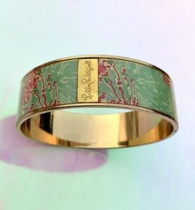 Lilly Pulitzer Bangle Mint Green and Pink