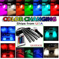 Car Accessories RGB LED Light Dash Floor Foot Strip Lights Decorative Lamp