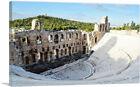 ARTCANVAS Odeon of Herodes Atticus Greek Theater Canvas Art Print