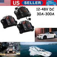 30A-300A AMP Circuit Breaker Fuse Car Boat Waterproof Manual Switch 12-48V DC