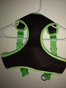 "NWOT~TOP PAW DOG COMFORT HARNESS~Girth 33""-39""~Black & Neon Green"