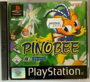 PS1 Pinobee OVP Sony Playstation 1 BESTSELLER