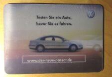 Original VW Mousepad Unterlage www.der neue passat.de Hologramm
