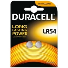 Duracell LR54-C2 1.5V Alkaline Coin Cells Carded 2