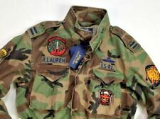 ***4XLT***Polo Ralph Lauren Men M-65 Tigers Military USA Army Camo Field Jacket