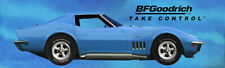 REPRODUCTION BFGoodrich 1969 Blue Corvette 13oz Vinyl Banner 3 Sizes Available.