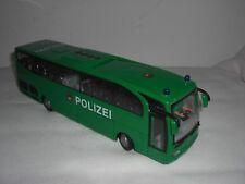 Dickie 1/43 Travego Polizei Police Bus Autobus Autocar Reisebus Coach Electronic